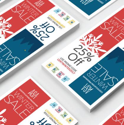 ASA winter sale marketing campaign